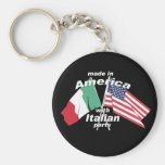 Made In America With Italian Parts Key Chain