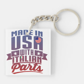 Made In America With Italian Parts Key Ring