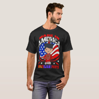 Made In America With Mongolian Parts Country Shirt