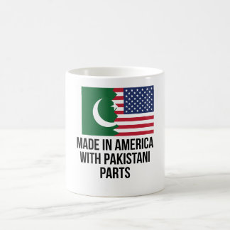Made In America With Pakistani Parts Magic Mug