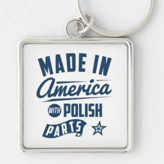Made In America With Polish Parts Key Ring