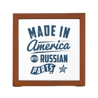 Made In America With Russian Parts Desk Organiser