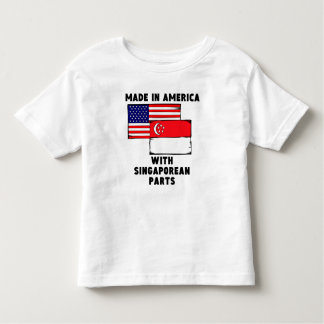 Made In America With Singaporean Parts Toddler T-Shirt