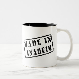 Made in Anaheim Two-Tone Coffee Mug