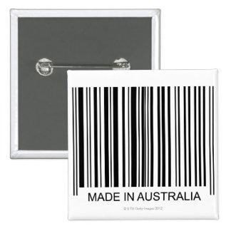 Made in Australia 15 Cm Square Badge