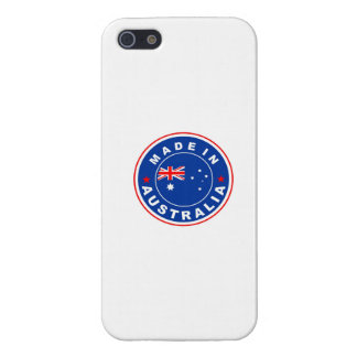 made in australia country flag label cases for iPhone 5