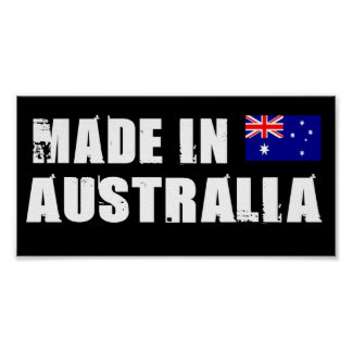 Made in Australia Posters