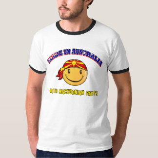 Made in Australia with Macedonian part's T-Shirt