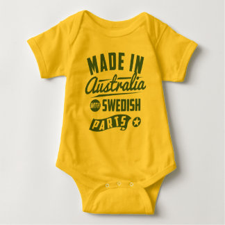 Made In Australia With Swedish Parts Tee Shirt
