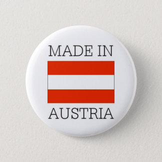 Made in austria 6 cm round badge