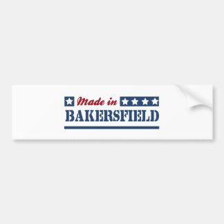 Made in Bakersfield Bumper Sticker
