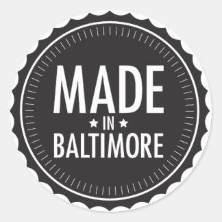 Made in Baltimore sticker
