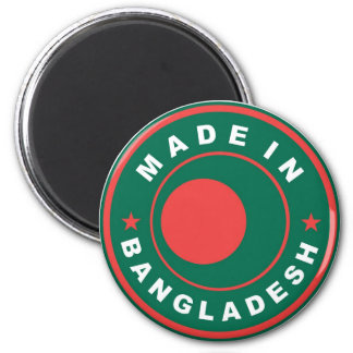 made in bangladesh country flag label stamp refrigerator magnets