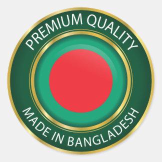 Made in  Bangladesh Flag, Bangladech Seal