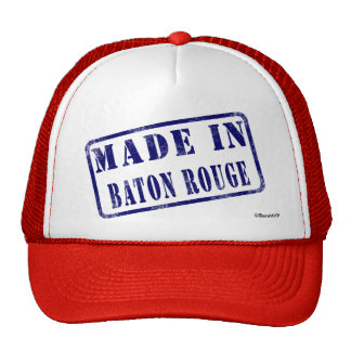 Made in Baton Rouge Hats