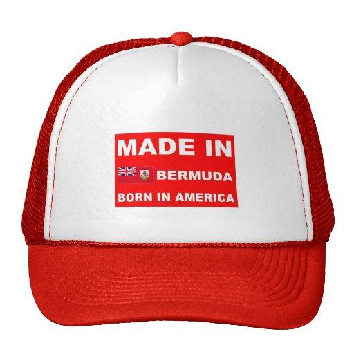 Made in Bermuda Trucker Hats