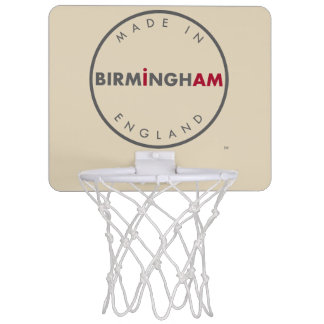 Made in Birmingham Basketball Mini Basketball Hoop
