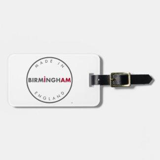 Made in Birmingham Luggage Tag