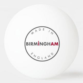 Made in Birmingham Ping Pong Ball