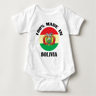 Made In Bolivia Baby Bodysuit