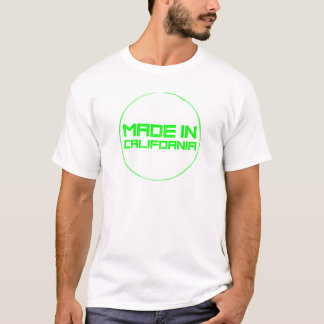 Made In California Green T-Shirt