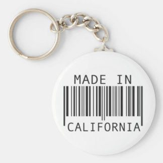 Made in California Key Ring