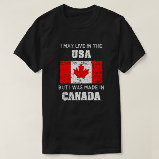 Made in Canada mens shirt - Canadian