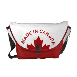 Made In Canada Messenger Bag