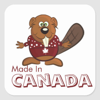Made In Canada Stickers
