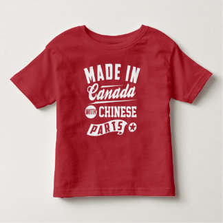 Made In Canada With Chinese Parts Toddler T-Shirt