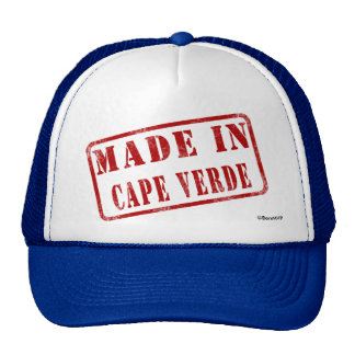 Made in Cape Verde Mesh Hats