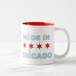 Made in Chicago, Illinois Two-Tone Coffee Mug