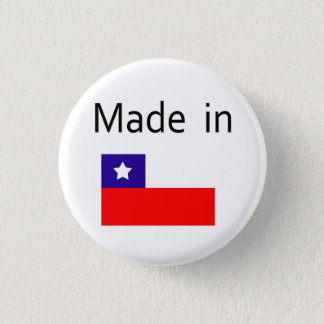 Made in Chile 3 Cm Round Badge