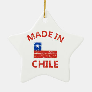 Made in chile christmas ornaments