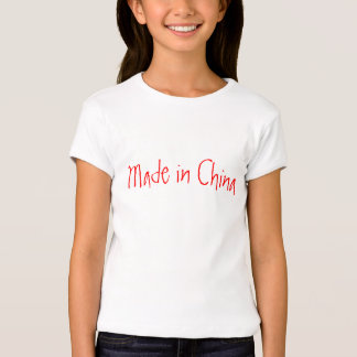 Made in China 100% American T-shirts