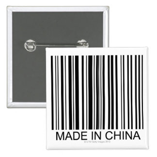 Made in China 15 Cm Square Badge