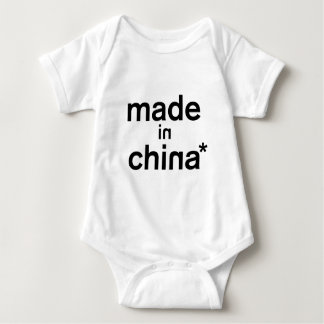 MADE IN CHINA* Apparel Baby Bodysuit