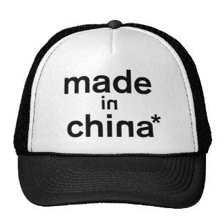 MADE IN CHINA* Apparel Cap