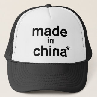 MADE IN CHINA* Apparel Trucker Hat