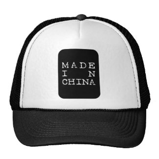 made in china mesh hat