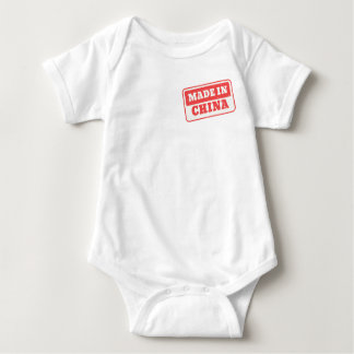 Made in China Certified Stamp Baby Bodysuit