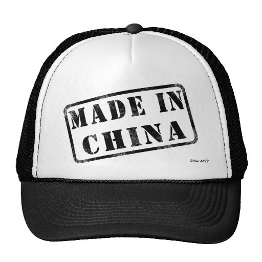 Made in China Trucker Hats