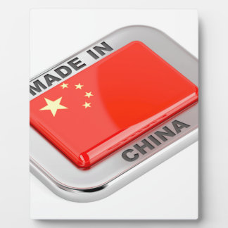 Made in China Plaque