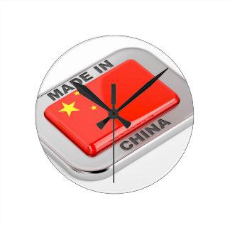 Made in China Round Clock