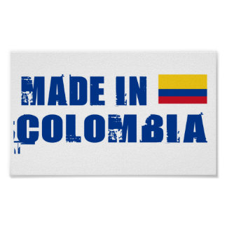 Made in Colombia Poster