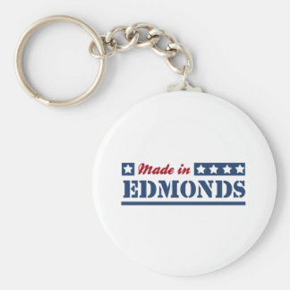 Made in Edmonds Key Ring