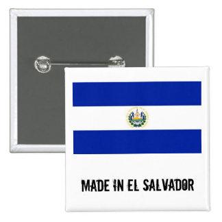 Made in El Salvador square button
