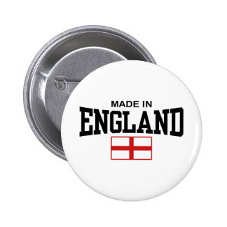 Made In England 6 Cm Round Badge