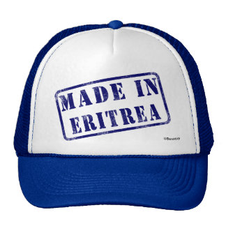 Made in Eritrea Cap
