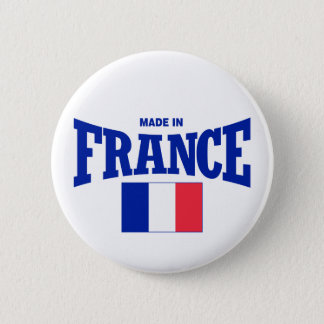 Made in France 6 Cm Round Badge